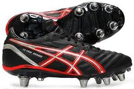 s rugby boots uk asics mens lethal charge 8 stud rugby boots uk 6 5 10 5 ebay