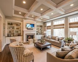 Best Traditional Family Room With Beige Walls Ideas  Photos - Traditional family room