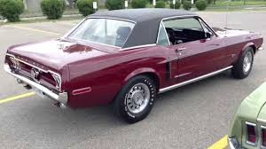1968 ford mustang gt coupe 250 hp youtube