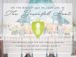 wedding planning services nc wedding planner and designer the graceful host