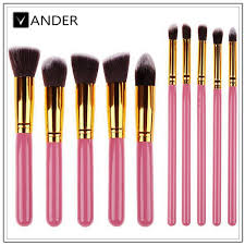 professional cosmetics makeup brush set eyebrow shadows kabuki