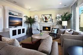 where to place tv in living room with fireplace staging the living room