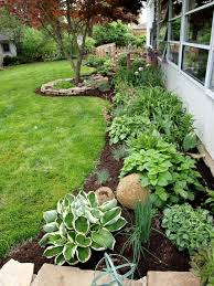33 beautiful flower beds adding bright centerpieces to yard inside