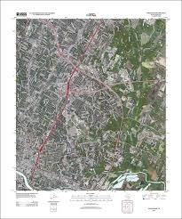 New Orleans Elevation Map by The National Map Historical Topographic Map Collection