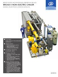 broad chiller catalog air conditioning hvac