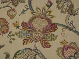 Exclusive Curtain Fabrics Designs Curtain Fabric Upholstery Fabric Jacobean Tapestry Teastain