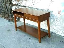 west elm entry table mid century console table listcleanupt com