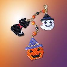 301 best beaded halloween images on pinterest bead patterns