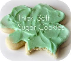 peppermint plum thick soft sugar cookies