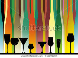 background bottle vectoralcoholic bar menudesign partycard stock