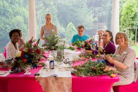 flower arranging classes for anyone pink energy floral design