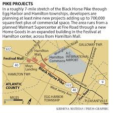 at least 10 projects planned along black horse pike money