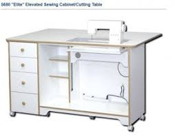 how to make a drop in sewing table cabinets
