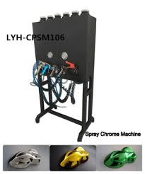 liquid image item no lyh cpsm106 chroming machine for color spray
