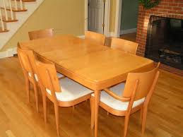 craigslist dining room set heywood wakefield dining table 4 armless chairs with white