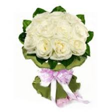 White Rose Bouquet White Roses Bouquet