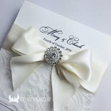 wedding ribbon wedding invitations with bows lace wedding invitations free shipping