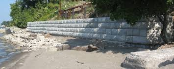 Recon Retaining Wall by Hill Crafters Inc
