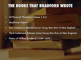 plymouth plantation book william bradford by andrew childs
