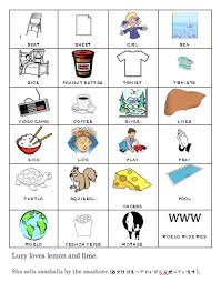 english pronunciation drill sheet for the japanese english words