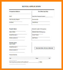 8 simple rental application form daily log sheet