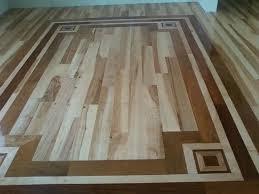 Hardwood Floor Borders Ideas Hardwood Flooring Border Rug Idea Dining Area Ideas For My