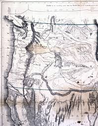 Map Of Southern Oregon by Cartography Of Oregon 1507 1848