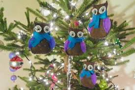 owl family felt ornament patterns downeast thunder farm