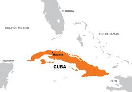 Cuban Map Senior Thesis Exploring The Emergence Of Cuban Consumerism