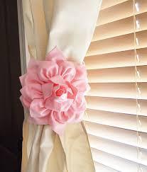curtains modern baby nursery valance design amazing pink
