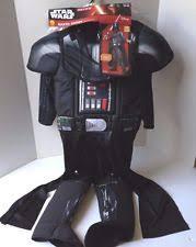 disney star wars darth vader child costume small for 3 4 years ebay