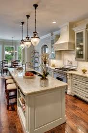 One Wall Kitchen Designs With An Island Awesome Long Kitchens On Kitchen With White Kitchen With Long