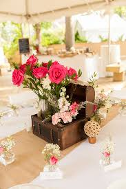Backyard Wedding Centerpiece Ideas Vintage Boho Chic Backyard Wedding Wedding Centerpieces
