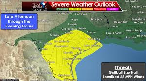 Weather Map Texas Scattered Storms With Hail Wind Possible In Southeast U0026 South Tx