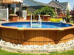 Above Ground Pool Ideas Backyard Best 25 Above Ground Pool Landscaping Ideas On Pinterest Above
