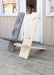 one board minimalist chair diy woodworking woodworking and woods