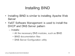Download Linux Dns Server Software by Linux Operations And Administration Ppt Video Online Download
