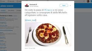 si e social michelin perché la pizza di carlo cracco fa discutere panorama