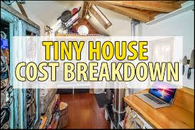 Tiny House Interiors Photos Tiny House Cost Detailed Budgets Itemized Lists U0026 Photos Examples