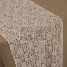 ivory lace table runner ivory lace runner groovy linen trendy ottawa linen rentals