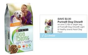 purina light and healthy purina dog chow coupons and stock up deals
