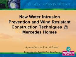 1 new water intrusion prevention and wind resistant construction
