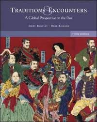 traditions encounters a global perspective on the past by jerry h