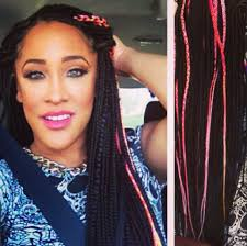 hairstyles for box braids 2015 black with a side of pink the cuteness braids pinterest