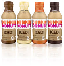 espresso drinks new dunkin u0027 donuts bottled iced coffee now arriving at retailers