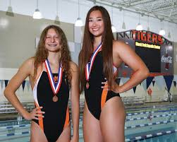 Grinter Prep Year In Review Girls Swimmers Of The Year Kate May And