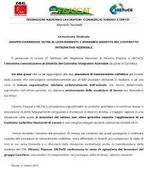 si e social de carrefour plan social carrefour italie la ccn dénoncée pour la 2ème fois 2