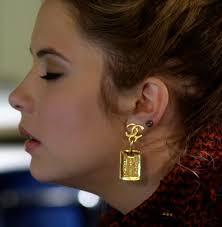 pretty liars earrings chanel earrings marin marin