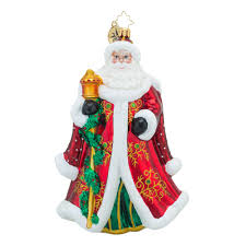 christopher radko ornaments santa figures collection