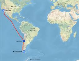 Map Of Chile South America by Operation Icebridge Arrives In Chile Operation Icebridge